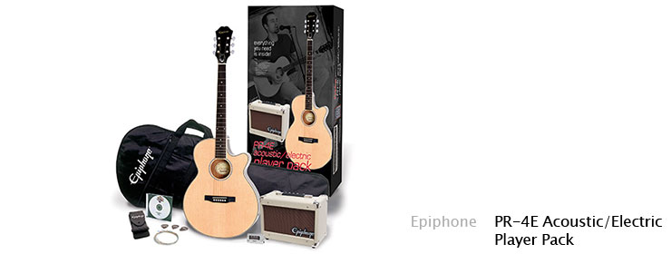 Epiphone - PR-4E Acoustic/Electric Player Pack