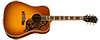 50th Anniversary Custom Hummingbird Rosewood Shown in Heritage Dark Cherry Sunburst