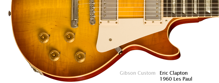 Gibson USA - Eric Clapton 1960 Les Paul