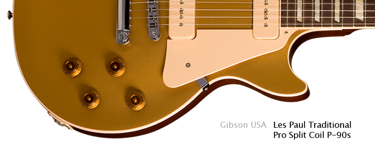 Gibson USA - Les Paul Traditional Pro Split Coil P-90s