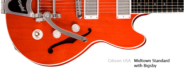 Gibson USA - Midtown Standard with Bigsby