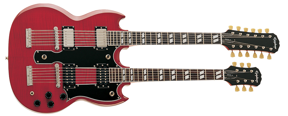 Todas las SG producidas por Gibson y Epiphone