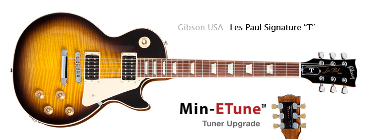  Gibson USA - Les Paul Signature T with Min-ETune