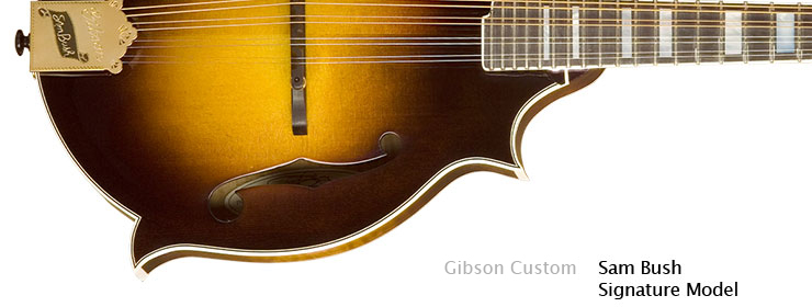 Gibson Custom - Sam Bush Signature Model