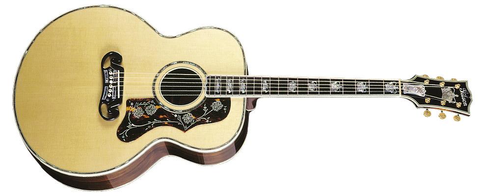 Guitarras Acusticas de Gibson 1ra Parte