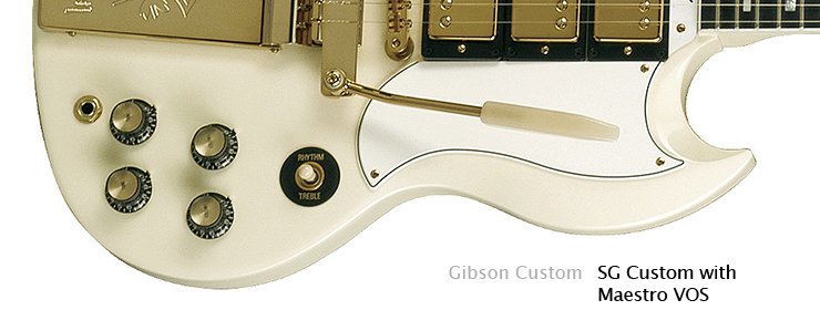 Gibson Custom - SG Custom with Maestro VOS