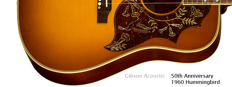 Gibson Acoustic - 50th Anniversary 1960 Hummingbird