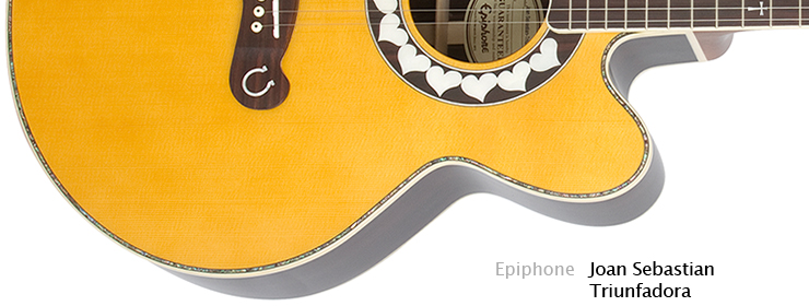 Epiphone - Joan Sebastion Triunfadora