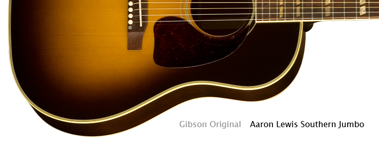 Gibson Acoustic - Aaron Lewis Southern Jumbo