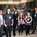 Artists: L-R Edgar Pasten, Stephen M. Taylor, Tsipi Mani, Lana Gomez, Juliana Martinez, Ryan McCann