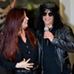 Slash and wife Perla Hudson