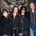 Gibson GuitarTown Launch - L-R Krista Shue (Gibson), Perla Hudson, Slash, Peter Leinheiser (Gibson)