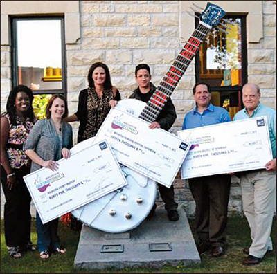 Gibson Waukesha GuitarTown proceeds disbursed