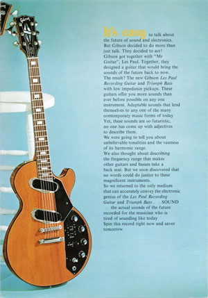 Gibson LP Recording Ad