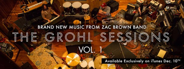 zac brown band dave grohl sessions