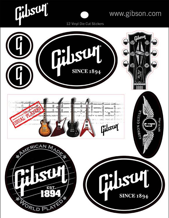Gibson-sticker