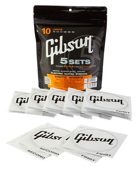Gibson-strings-pack