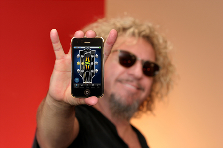 Sammy-Hagar-iPhone Gibson app