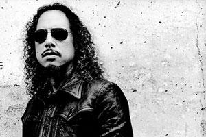 Kirk Hammett by Anton Corbijn