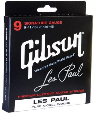 Gibson Guitar string pack