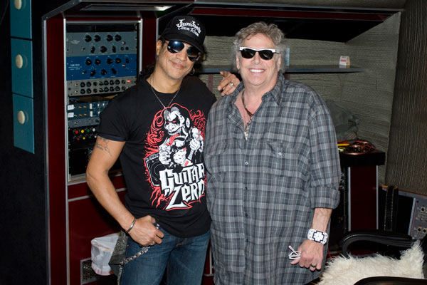 Leslie West & Slash by Alex Solca