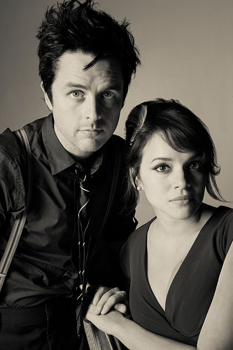Billie Joe Armstrong and Norah Jones by Marina Chavez