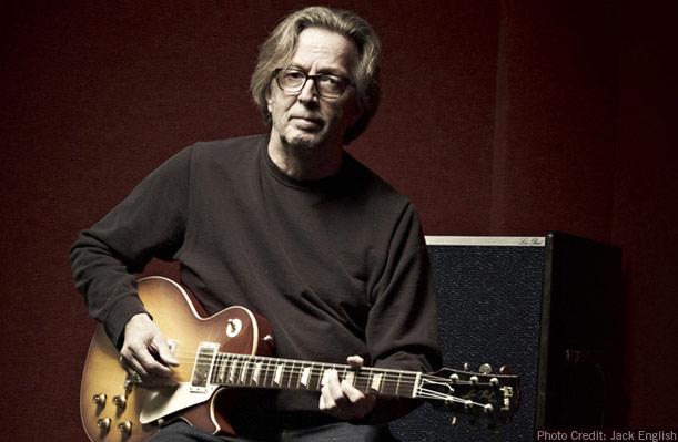 Eric Clapton by Jack English