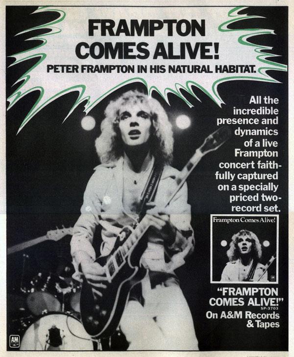 Frampton Comes Alive advert