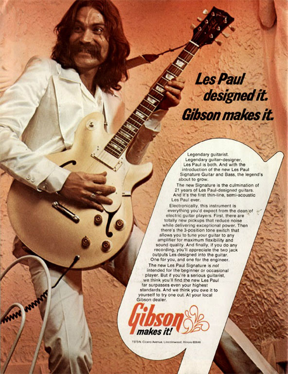 Gibson vintage ad