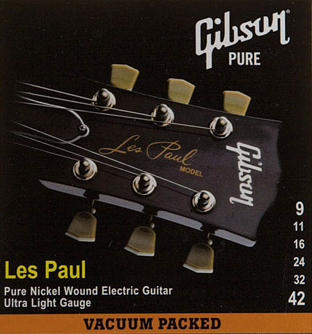 Gibson Les Paul Strings