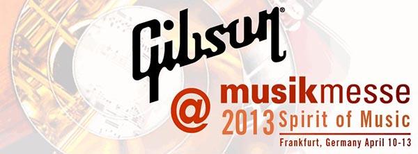 Gibson Musikmesse logo