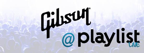 Gibson Playlist Live logo 2013