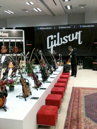 Gibson NAMM Floor Display