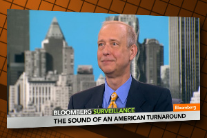 Henry Juskiewicz on Bloomberg Surveillance TV show