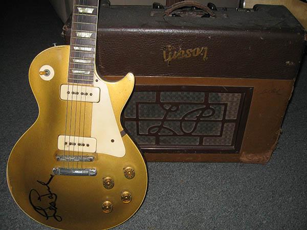 Gibson Les Paul autographed by Les Paul