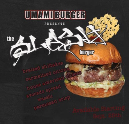 Slash burger