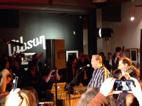 Gibson 2014 NAMM Brian Wilson