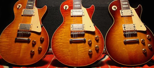 Gibson Les Paul bursts