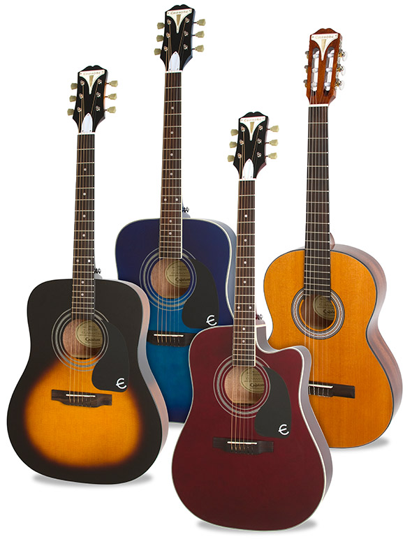 Epiphone Introduces the PRO-1 Acoustic Collection