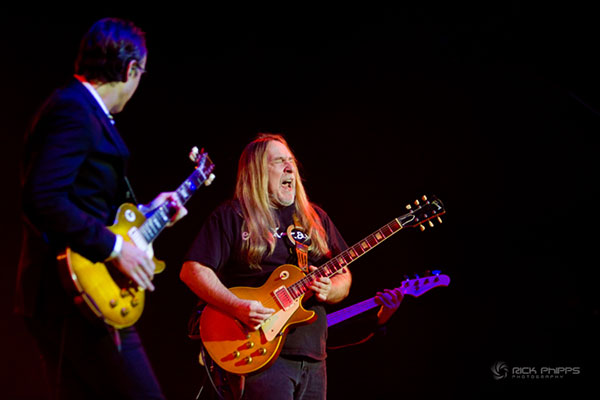 Greg Martin and Joe Bonamassa by Rick Phipps