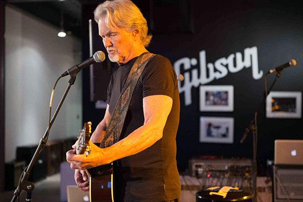 Gibson 2014 NAMM Kris Kristofferson