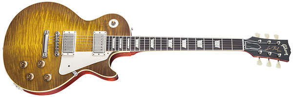"Spirit of '59 in New Joe Bonamassa ""Skinnerburst"" Les Paul"