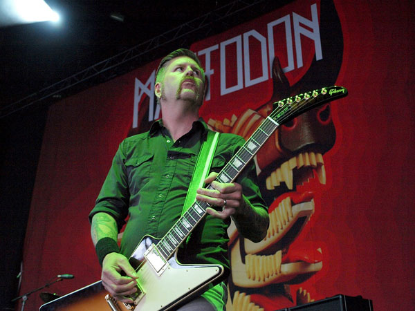 Mastodon Bill Kelliher by Anne Erickson