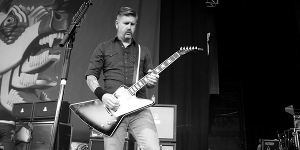 Mastodon Bill Kelliher by Anne-Erickson