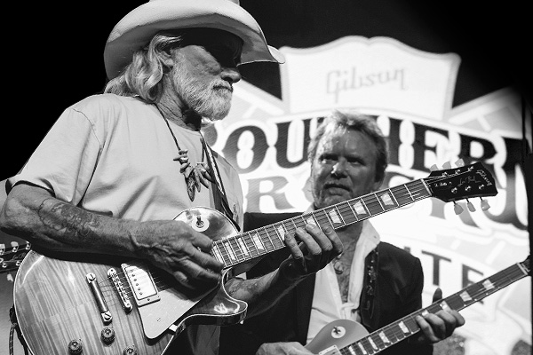 The great Dickey Betts with the Southern Rock Tribute 1959 Les Paul