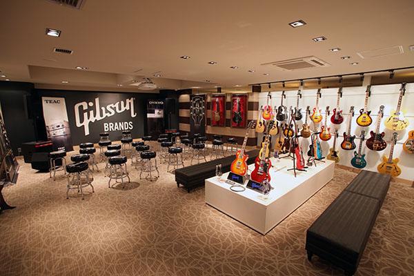 Gibson Brands Tokyo Showroom