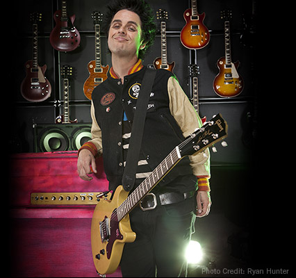 Billie Joe Armstrong by Ryan Hunter