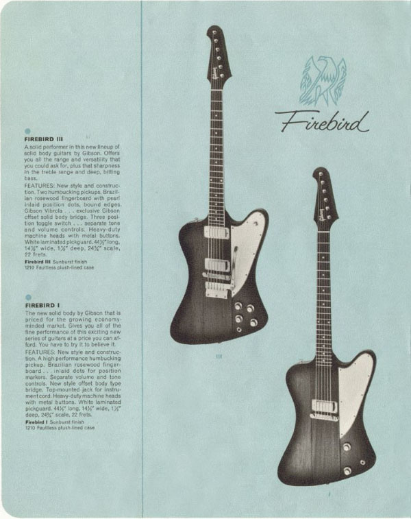 The Gibson Firebird