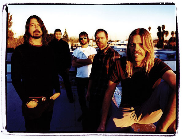 The Foo Fighters by Steve Gullick