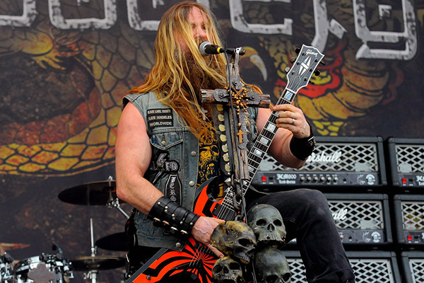 Zakk Wylde by Graham Finney
